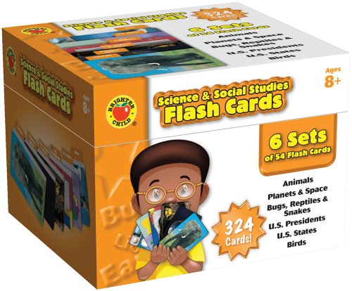 (Brighter Child Science & Social Studies Flash Cards)