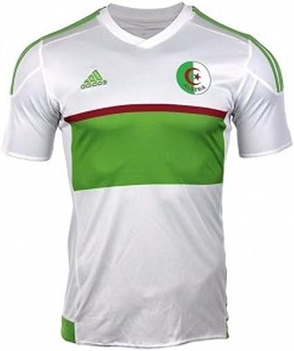 adidas 2017 2018 Algeria Home Football Soccer T Shirt Maillot