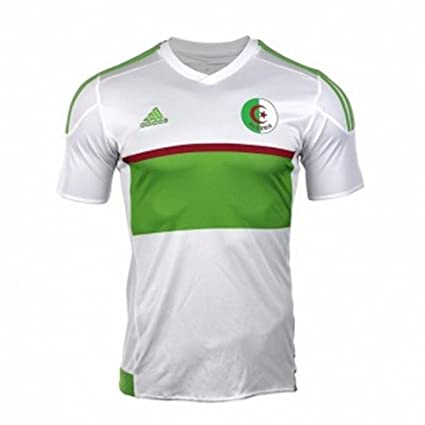 latest discount affordable price superior quality adidas 2017-2018 Algeria Home Football Soccer T-Shirt Maillot