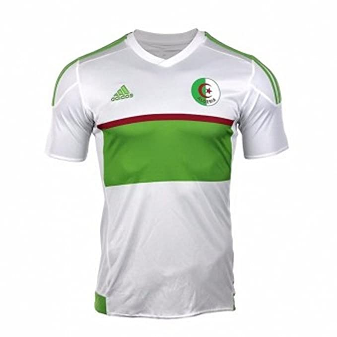 690335a530d adidas Algeria Men's Home Football Shirt 2016-2017: Amazon.co.uk: Sports &  Outdoors