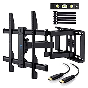 TV Wall Mount Bracket Full Motion for most 37-70 Inch LED, LCD, OLED, Flat Screen, Plasma TVs