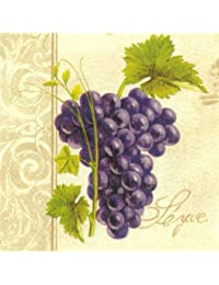 Favor Abbott Collection Luncheon Grape Chateau Napkins, Multicolor save