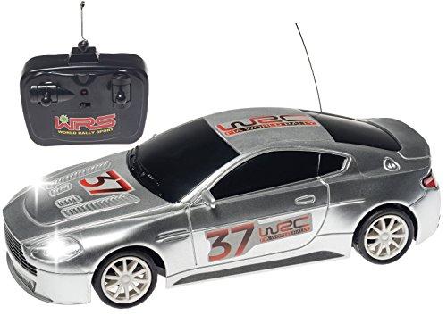 Top Race® Aston Martin 4ch RC Ferngesteuerter Rennwagen RC Auto Modell mit blauen Scheinwerfern