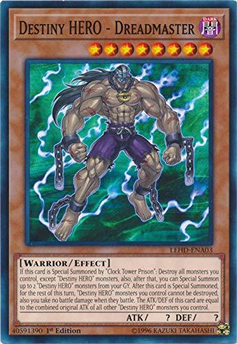 Yu-Gi-Oh! - Destiny Hero - Dreadmaster - LEHD-ENA03 - Common - 1st Edition - Legendary Hero Decks - Destiny Hero Deck