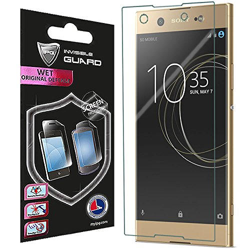 For Sony Xperia XA1 SCREEN Protector Invisible Ultra HD Clear Film Anti Scratch Skin Guard - Smooth / Self-Healing / Bubble -Free By IPG