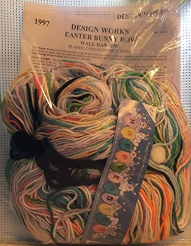 (Design Works - Easter Bunny Row - Wall Hanging Kit 1997 - #11469)