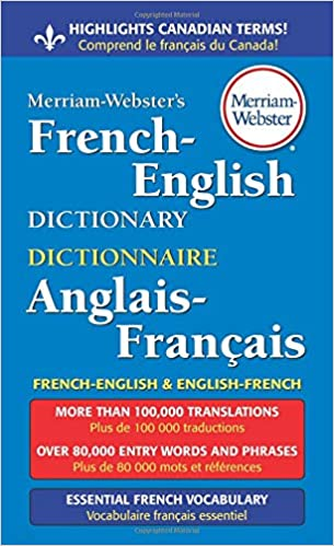 Amazon com: Merriam-Webster's French-English Dictionary