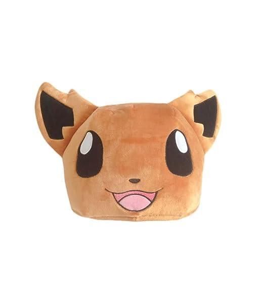 amazon com pokemon cute normal eevee evolution plush costume hat