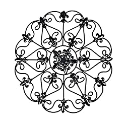 Iron Wall Medallion (Teal) by GetSet2Save