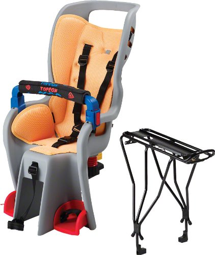 Topeak Baby Sitter II Bike Seat with Alloy Rack w/Disc Rack - TCS2202
