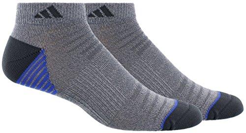- adidas Men's Superlite Speed Mesh 2 Pack Low Cut Socks, Blue, Size 6-12