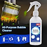 All-Purpose Bubble Cleaner Spray, Multifunctional Household Kitchen Car Cleaning, Best Natural Cleaning Product Foam Cleaner for Grease, 200ml