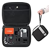 GoPro Case, MoKo Camera Case Protective Bag Hard Carrying Case Shockproof Travel Storage with Handle and Carabiner for GoPro Hero 6 5 4, Black