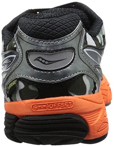 Saucony hombres Ride 8 GTX Running zapatos, blanco/negro/Orange,12.5 M US