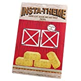 Beistle 52069 Barn Loft Door and Hay Bale Props
