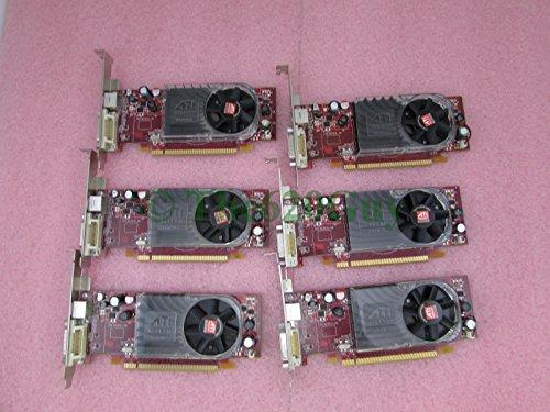 Lot of 6 Dell FM351 ATI Radeon HD2400 XT 256MB DMS59 PCIe x16 Video ()