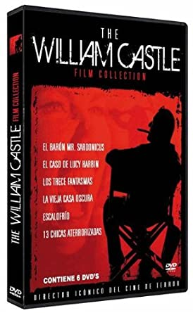 The William Castle Film Collection Import Movie European Format ...