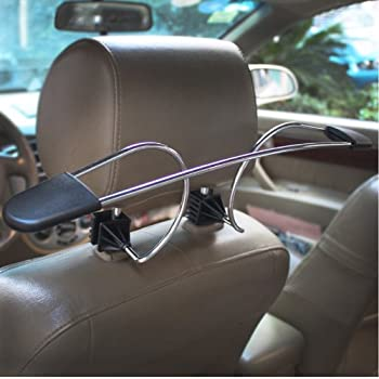high road headrest car coat hanger automotive. Black Bedroom Furniture Sets. Home Design Ideas
