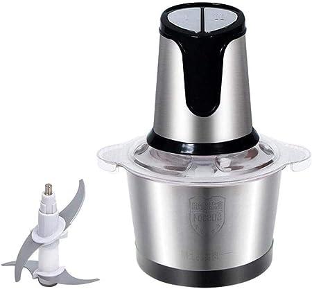 Robot de cocina eléctrica de acero inoxidable for picar carne y verduras Frutas máquina de cortar