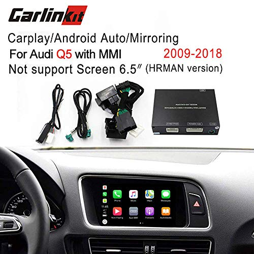Carlinkit Car Airplay Android Auto Carplay Box Interface for Audi Q5  Factory Screen Upgrade with Android Auto iOS12 AirPlay Screen  Mirroring(Support