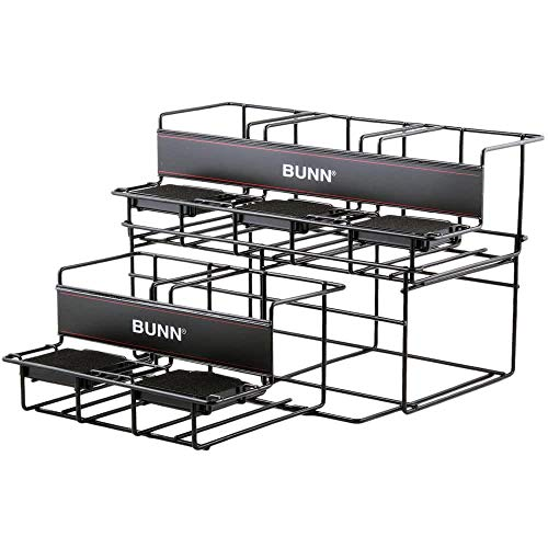 Bunn 35728.0004 UNIV-5 APR Two Tier Five Pot Universal Airpot Rack Display