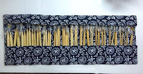 by Aiguilles Circulaires /À Tricoter avec Bo/îtier 2mm-12mm Cascacavelle 16 Paires// 32 Pi/èces en Bambou 100cm