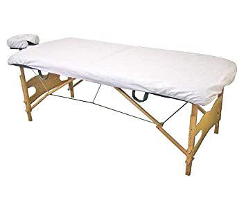 207 & Lifesoft Disposable Fitted Massage Table Sheet Heavy Duty Facial Bed Cover 35\
