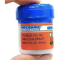 VK Mechanic Soldering Tin Cream Solder Flux Paste Welding Fluxes Sn63/Pb37 For PCB BGA SMD Phone PC