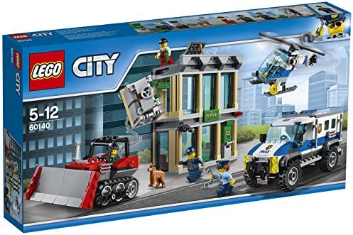LEGO City - Le cambriolage de la banque - 60140 - Jeu de Construction