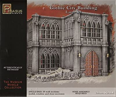 WWII Gothic City Building Large Set from Pegasus Hobby