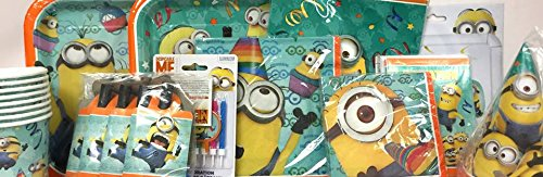 Despicable Me Birthday Minion Party Supply Decoration Package Kit -