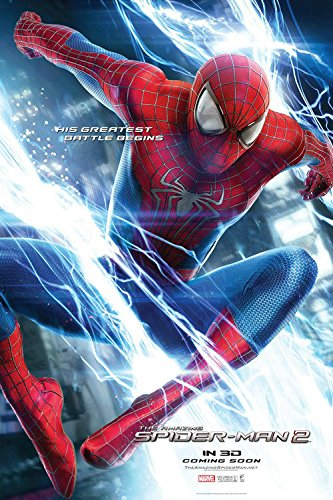 Fit You The Amazing Spider-Man 2 Canvas Wall Poster Hot Movie Posters Home Room Decor Gift Electro Andrew Garfield 05
