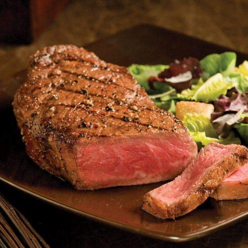 Omaha Steaks Private Reserve Boneless Strips + Rub