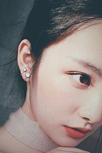 (Generic Korean ear bone_ clip _trinkets_single_drill_stars ear Nail earrings women girl _temperament_ earrings Earring eardrop hair Clip Artificial_ earrings _small_beauty)