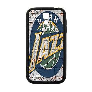 Utah Jazz NBA Black Phone Case for Samsung Galaxy S4 Case