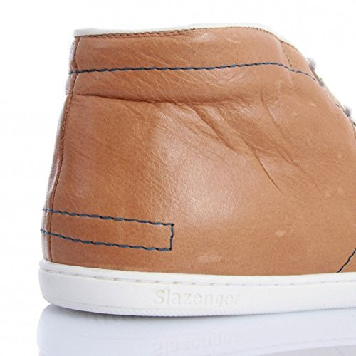 Slazenger Men Sneakers MID EUSTON Cuoio Blue 8q8r4wU