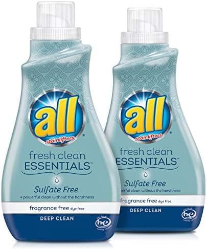 Laundry Detergent: All Fresh Clean Essentials