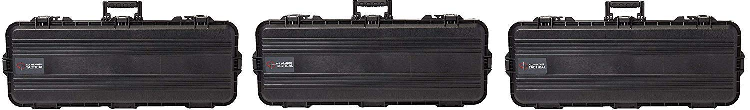 Plano All Weather Tactical Gun Case, 36-Inch (Pack of 3) by Plano