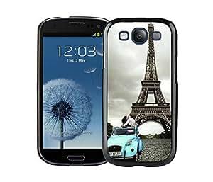 BINGO most popular Eiffel Tower Paris Samsung Galaxy S3 i9300 Case Black Cover