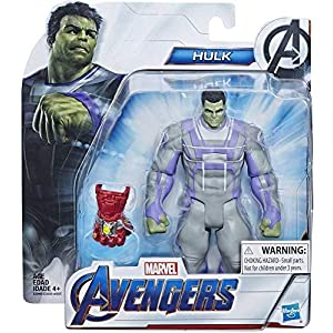 collector Avengers Movie- Hulk – Action Figure with Accessory, Approx 6″