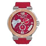 Mulco MW5-3547-063 Legacy Cubism Swiss Chronograph Red Watch