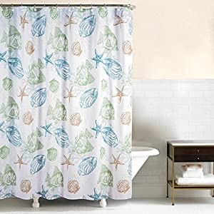 51t5vZBRsEL._SS300_ 200+ Beach Shower Curtains and Nautical Shower Curtains