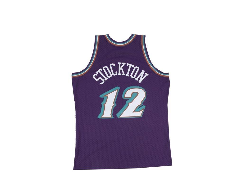 Mitchell & Ness - Utah Jazz Jersey Swingman - Camiseta - John Stockton - NBA Baloncesto - Fan Artículo, Hombre, Large: Amazon.es: Deportes y aire libre