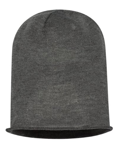 Alternative - Oversized Beanie - AH91 - One Size - Heather Grey