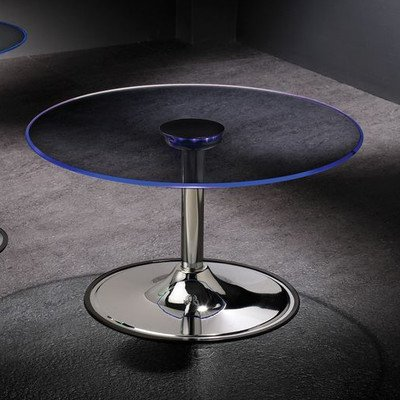 Coffee Table with LED Light
