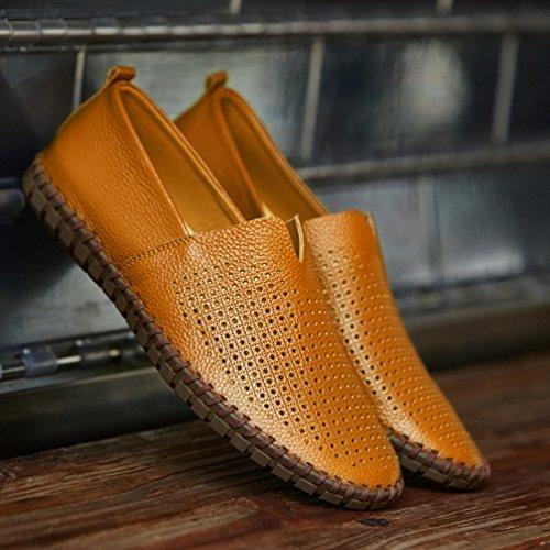 En Mocassins Vache Hommes Pour De Chaussures Cuir g041wSqSU