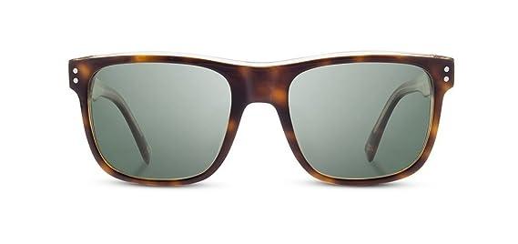 71c1b24b439 Amazon.com  Shwood - Monroe Rectangle Acetate   Wood Sunglasses - Black    Elm  Burl  Clothing