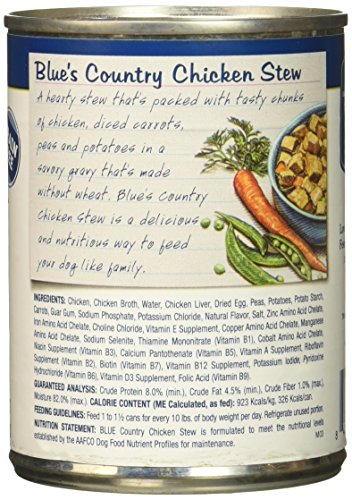 Blue Buffalo Blue Blue S Stew Turkey Stew For Dogs Review