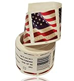 #6: USPS US Flag 2017 Forever Stamps - Roll of 100