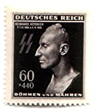 FLAWLESS RARE ORIGINAL HEYDRICH DEATH MA